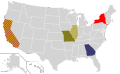 Presidential Candidate Home State Locator Map, 1980 (United States of America).png