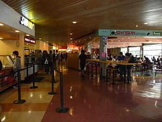 Price Center - The Plaza food court in Price Center West