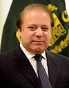 Official Photograph of Nawaz Sharif, Prime Minister of the Islamic Republic of Pakistan taken by his personal photographer Z A Balti, released for public domain.
