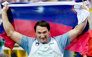 Slovenian Sportsperson of the Year - Primož Kozmus