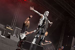Primordial (band) - Primordial 2016 at Rockharz festival, Germany