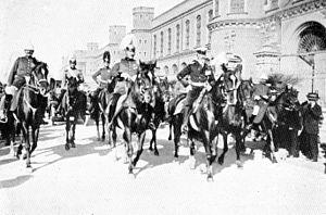 Prince Henry of Prussia (1862–1929) - Prinz Heinrich von Preußen in Santiago de Chile Anfang April 1914 anläßlich des Besuchs der Detachierten Division der Kaiserlichen Marine in Chile