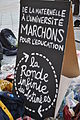 Protest in perpetual motion from nursery school to University - Paris.jpg
