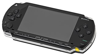 PlayStation Portable handheld game console made by Sony