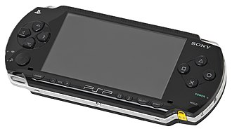 PlayStation Portable - Logo and original model of the PSP