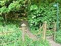 Public footpath through Gumley Wood - geograph.org.uk - 417980.jpg