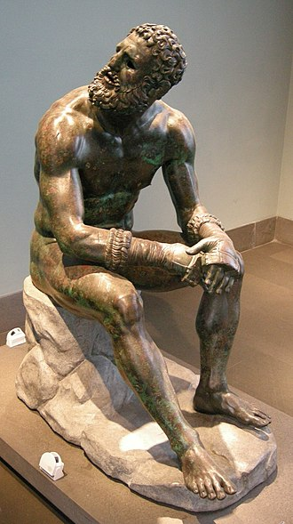 Boxer at Rest - Image: Pugile, I secolo ac., 02