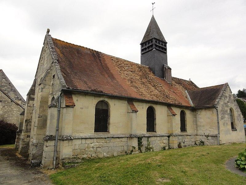 Puiseux-en-Retz (Aisne) église