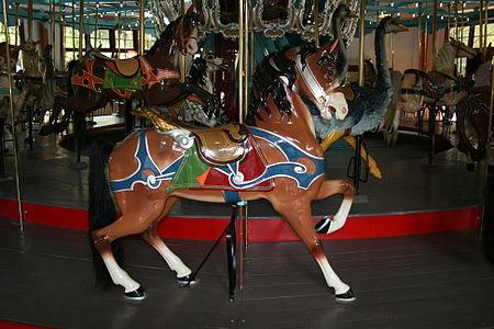 1900 Horse By Salvatore Cernigliaro For Dentzel In The Philadelphia Style