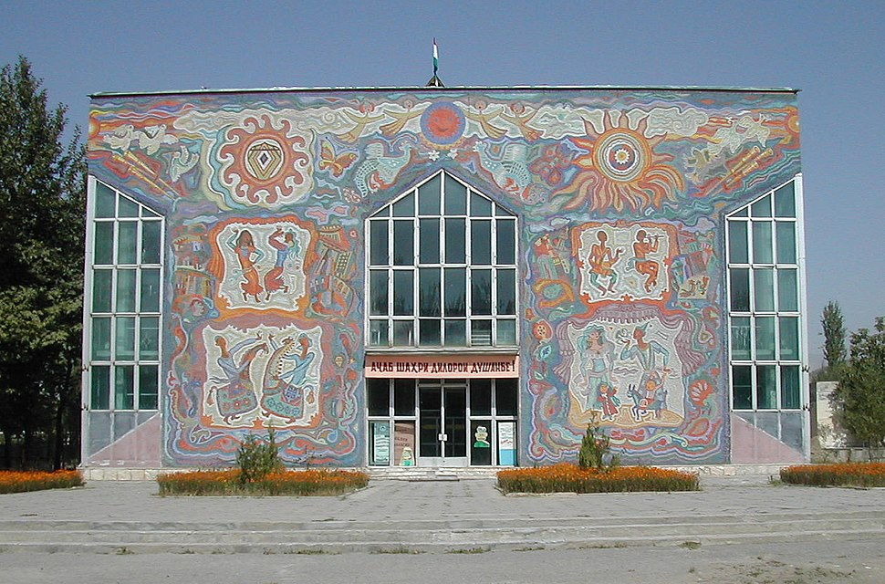 Puppet theatre in Dushanbe