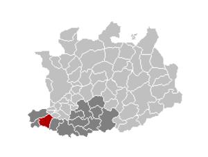 Puurs - Image: Puurs Locatie