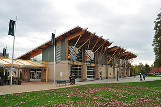 Puyallup, Washington - Pioneer Park Pavilion