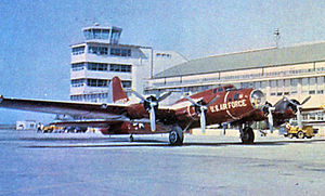 B-17 Flying Fortress units of the United States Army Air Forces - One of the last QB-17 Drones at Holloman AFB, New Mexico, 1959