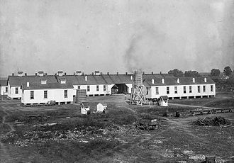 Louisiana State Penitentiary - Quarters A, 1901