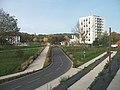 Quartier de Presles (Cusset) - Allée Mesdames 2020-10-24.JPG