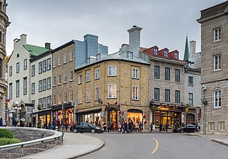 Old Quebec - Most of the buildings in Upper Town date to the early 19th century.