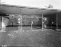 Queensland State Archives 1737 Milking bails dairy building Oakey Creek June 1955.png