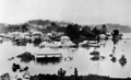 Queensland State Archives 485 Newstead Brisbane during the 1893 flood February 1893.png