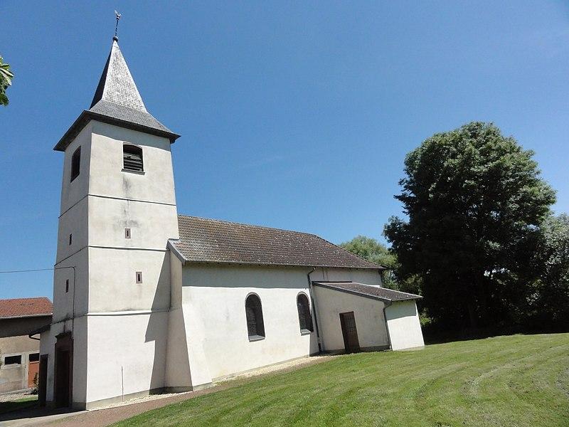 Réclonville (M-et-M) Église Saint-Sylvestre