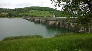 Le Réservoir de Grosbois, Côte-d'Or en 2015