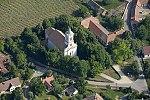 Római katolikus templom, Mindszentkálla, légi fotó.jpg