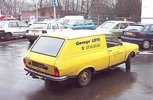 """Renault 12 - """"Service"""" (van) version"""
