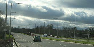 R132 road (Ireland) - Image: R132road Ireland