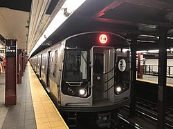 R179 C Train Pennsylvania Station.jpg