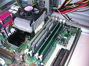 RDRAM - A Samsung RDRAM Installed with Pentium 4 1.5 GHz
