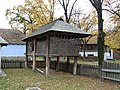 RO B Village Museum Suici household maize cob barn.jpg