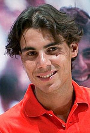 2010 Rafael Nadal tennis season - Image: Rafael Nadal Iberia (cropped)
