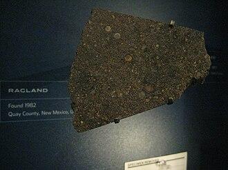LL chondrite - Ragland meteorite, an LL3.4