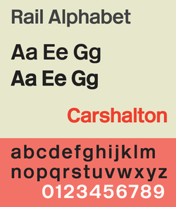 Rail Alphabet - Wikipedia