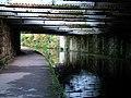 Railway bridge over Leeds-Liverpool canal - geograph.org.uk - 1023032.jpg