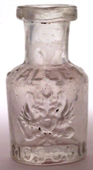 Rallet -  Rallet Perfume Bottle Showing Romanov Double Eagle
