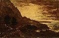 Ralph Albert Blakelock - Sunset, Navarro Ridge, California Coast - 1909.7.6 - Smithsonian American Art Museum.jpg