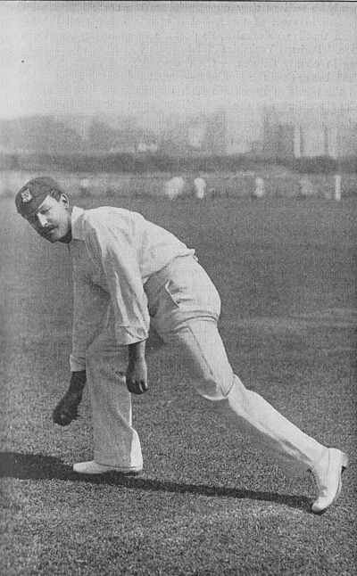 Ranji 1897 page 011 W. Marlow throwing in the ball - Action I.jpg