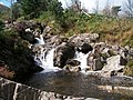 Rapids and plunge pool on the Tullybranigan River - geograph.org.uk - 1472078.jpg