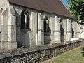 Raray (60), église Saint-Nicolas, nef, vue depuis le nord-est.JPG