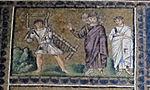 Ravenna, sant'apollinare nuovo, int., storie cristologiche, epoca di teodorico 11.jpg