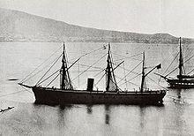 Il Re di Portogallo gemella del Re d'Italia, ammiraglia di Persano durante la battaglia di Lissa.