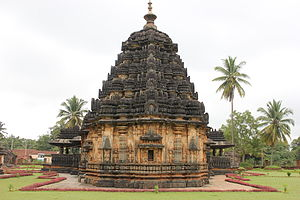 Western Chalukya architecture - Kaitabhesvara temple at Kubatur, 4-tiered plan, 1100 CE