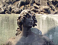 Recoleta Cemetery - Statue-Cross 38.jpg