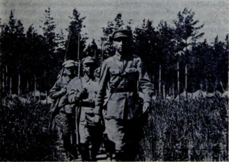57th Rifle Division (Soviet Union) - Territorial soldiers of the division's 170th Regiment on the march during a 1927 summer encampment
