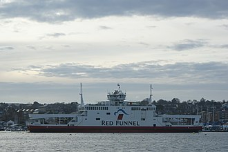 Isle of Wight ferry services - MV Red Falcon in 2009