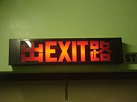 Exit Sign Wikipedia