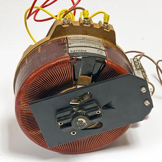 Transformer types - Variable autotransformer