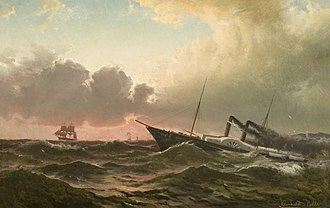 Norwegian Maritime Museum - Image: Reinholdt Boll Kronprindsesse Louise