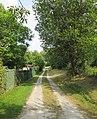 Reizvoller Gartenweg in der Nähe der früheren Hindenburg Kaserne - Eschwege - panoramio.jpg