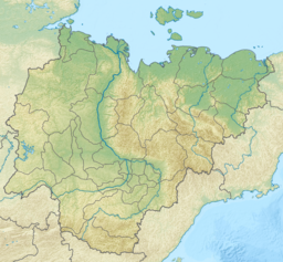 Stanovoy Range is located in Sakha Republic